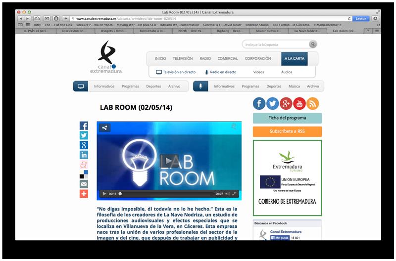Reportatge a Canal Extremadura